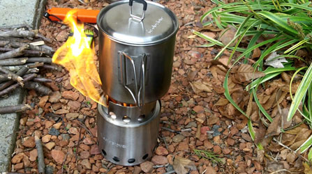 Solo Stove & Pot 900 Combo: Ultralight Wood Burning Backpacking Cook System Review 2019