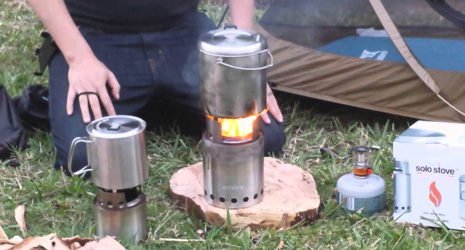 Solo Stove Stainless Steel Titan & Solo Pot 1800 Camp Stove Review 2019