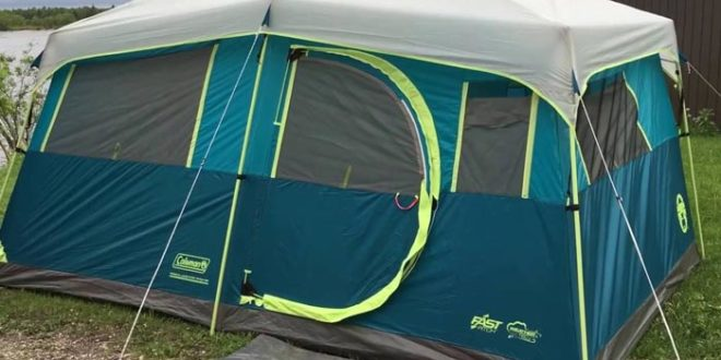 Coleman Tenaya Lake 8 Person Fast Pitch Cabin Tent with Closet Review 2019
